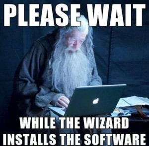 firefox - Please wait while the wizard installs the software